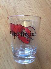 CAPE BRETON, NOVA SCOTIA SHOT GLASS