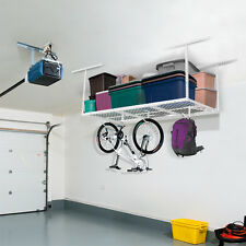FLEXIMOUNTS 3x6' Heavy Duty Overhead Garage RacK Adjustable Ceiling Storage Rack