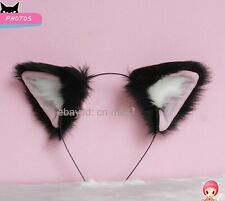 Tokyo Mew Momomiya Ichigo Cosplay Party Neko Cat ears Headband Hair band Black