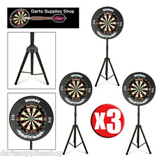 The Darts Caddy, Portable Dartboard Stand for the Serious Darts Player X 3