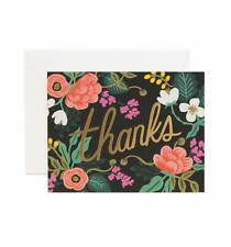 Rifle Paper Co. Birch Floral Greeting Cards - Thank you cards
