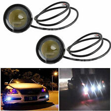 2X15W Eagle Eye Lamp Daylight LED DRL Fog Daytime Running Car Light Waterproof