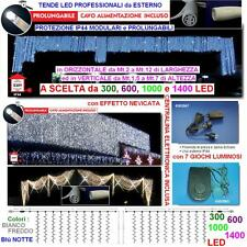 TENDA PROFESSIONALE Cm.200L x 500H 1000 LED BIANCHI PROLUNGABILE+CENTRALINA IP44