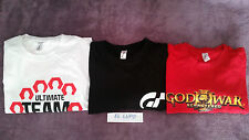TEE SHIRT FIFA 2014 ULTIMATE TEAM+GRAN TURISMO + GOD OF WAR REMASTERED PS3