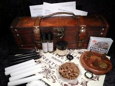 SEANCE & SPIRIT COMMUNICATION KIT CHEST ouija board wicca pagan ghost gift dead