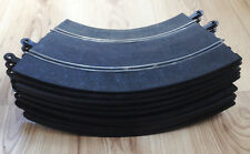 Scalextric 1:32 Classic Track - C187 Banked Curves x 10 - GOOD COND
