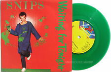 "Punk SNIPS 7"" Waiting For Tonight / Smash Your T.V. GREEN Vinyl UNPLAYED ! 1978"