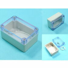 Waterproof Cover Clear Plastic Electronic Project Box Enclosure Case 10x6.8x5 cm
