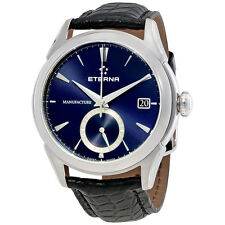 Eterna 1948 Legacy GMT Blue Dial Automatic Mens Watch 7680.41.81.1175