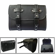 ARD CHAMPS™ Motorcycle Saddle Luggage PU Leather Side Tool Bag Storage Harley
