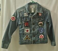 Official London 2012 Closing Ceremony Canada Olympic Denim Jacket Small Canadian