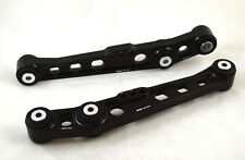 BLOX RACING REAR LOWER CONTROL ARMS BLACK LCA FOR CIVIC 92-95/INTEGRA 94-01