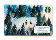 Starbucks Gift Card/Canada/unused unswiped/2015 Christmas Winter RECHARGEABLE