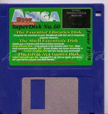 Amiga User International - Magazine Coverdisk - Superdisk 60