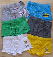 Herren Boxershorts Shorts mit Comic Motiv verschiedene Farben Gr. S, M, L, XL