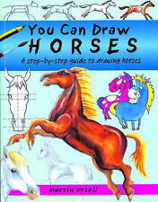 You Can Draw Horses: A Step-by-Step Guide to Drawing Horses,GOOD Book