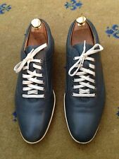 John Lobb Men's Grey Leather Lace Up Shoes UK 7 US 8 EU 41 Drivers