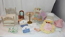 Fisher Price Loving Family Dollhouse Furniture and Accessories 15 pieces