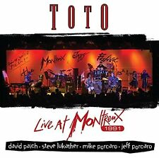 TOTO LIVE AT MONTREUX 1991 CD ALBUM (Released September 16th 2016)