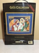 Dimensions The Gold Collection ~ The Birth Of Christ ~ Complete Kit #8563 ~ New