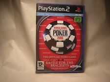 Playstation 2 World Series of Poker 2008 PS2