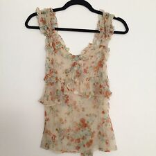 Dolce & Gabbana Floral Peasant Top Size 40 XS/Small