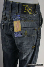 G STAR MENS JEANS W 30 L 34 ELWOOD HERITAGE LOOSE FIT BUTTON FLY VINTAGE 90'S