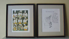 Beautifully Framed! Guy Buffet & Chef Michel Richard Recipe Signed Lithographs