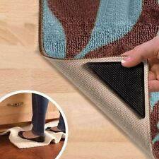 ANTI SCIVOLO ruggies RUG CARPET MAT GRIPPERS PARAMOTORE, lavabile e riutilizzabile Grip 4 Pack