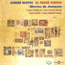 786 // LE PASSE SIMPLE : OEUVRES DE JEUNESSE - RIOTTE ANDRE (C