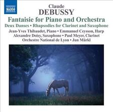 Debussy: Fantasie for Piano and Orchestra, New Music