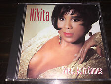 Sweet As It Comes Nikita Germaine CD Classic R&B Soul Motown Music What Am I Gon