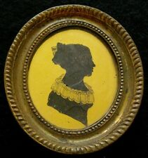 1820 American Gold Leaf Antique Silhouette EX RARE John Wesley Jarvis