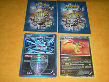 LOT 2 CARTES POKEMON HOLO RARES NEUVES : LIBEGON 140 PV CLITICLIC 140 PV