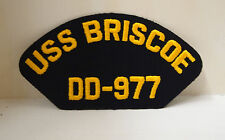 USS Briscoe DD - 977 Patch Patches USN US Navy USA Military NEW