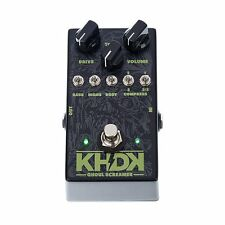 KHDK Kirk Hammett Ghoul Screamer Overdrive Guitar Multi Effects FX Pedal