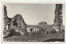 Rock From Tantallon Castle North Berwick 1957 RP Postcard 438a