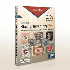 Stecotec Stamp Inventory Pro - The Collecting Software for Your Stamps - CD-ROM