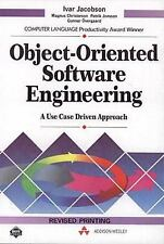 Object Oriented Software Engineering: A Use Case Driven Approach Jacobson, Ivar