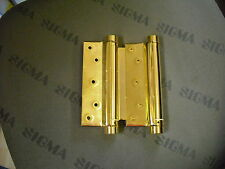 FRIDAVO Spiralfeder Pendeltürband für Türen von 35 - 40 mm Stärke 1 Paar