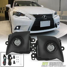 Retrofit 2014-2016 Lexus IS F-Sport Bumper LED Projector JDM Fog Lights+Switch