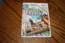 Sim City Creator (Wii, 2008) Brand New