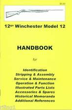 WINCHESTER Model 12 Assembly, Disassembly Manual
