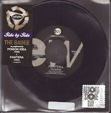 Poison Idea/Pantera, The Badge, NEW/MINT 7 inch single on BLUE vinyl RSD 2014