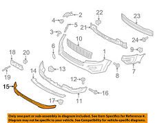FORD OEM 16-17 Explorer Front Bumper-Lower Panel FB5Z17626AA