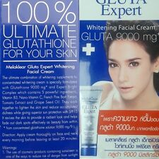 Gluta Expert Glutathione 9000mg. Whitening Facial Cream Skin Care Mela Beauty