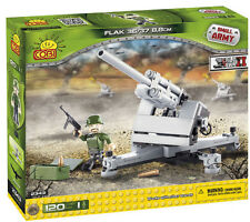COBI WW2 Series German FLAK 36/37 88 120 pieces blocks bricks world war 2 2343