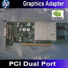 DUAL HP P169 NVIDIA Quadro PCI Video Card 351384-001 350970-003