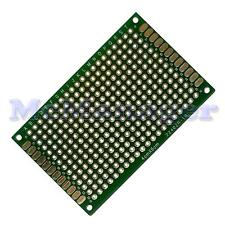 Drilled Double sided Copper Prototype PCB Matrix Epoxy Glass Fibre Board 40x60mm