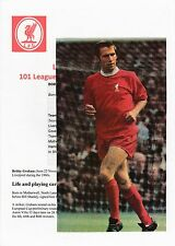 BOBBY GRAHAM LIVERPOOL 1964-1972 ORIGINAL HAND SIGNED MAGAZINE PICTURE CUTTING